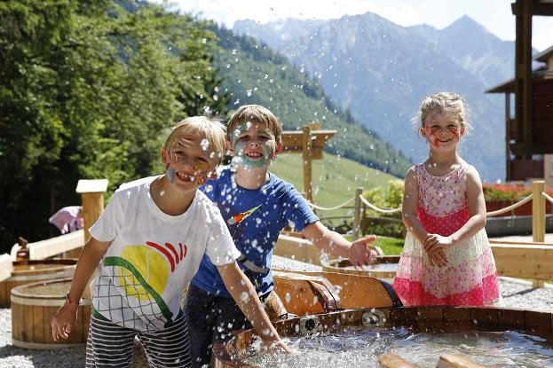 Kinderhotel Oberjoch, Wasserspielplatz